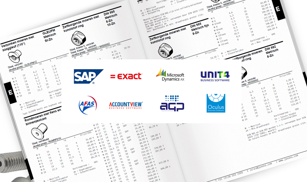 Your catalog from your ERP system