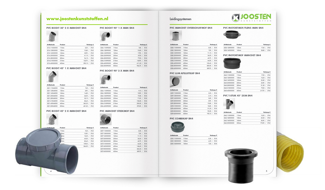 catalogus maken producent